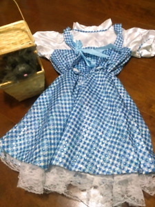 Dorothy Costume with Toto