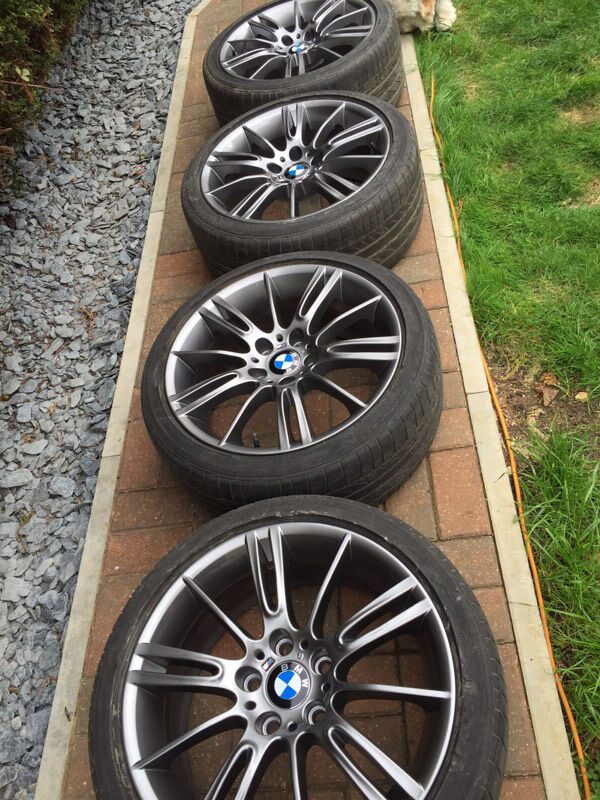 Genuine Bmw Mv3 18 Quot M Sport Alloy Wheels And Tyres E90 E91