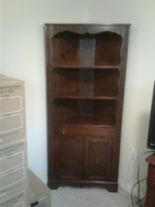 Antique furniture, dog supplies, assorted items