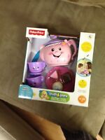 Fisher price laugh & learn teapot set $20