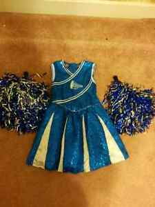 Girls size 7/8 Halloween cheerleading costume
