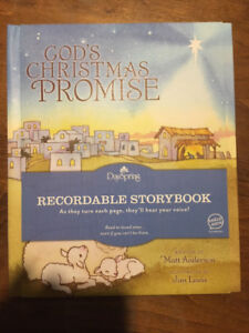 Recordable Christmas book for kids!