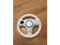 Nintendo Wii steering wheel.
