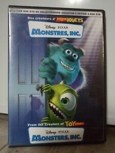 MONSTRES INC, version 2002 Disney Pixar