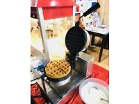 Waffle Machine Hire , Wedding , Party , Birthday , Quality Services London Aylin Sweets