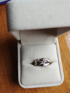 Wedding -- Engagement Ring and Band