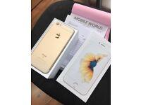 IPhone 6s Gold 64gb unlocked like new