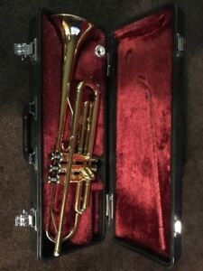 Yamaha trumpet in mint condition. Model number YTR1335