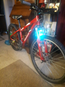 RED GIANT RINCON MTB WITH ROCK SHOX JUDYS