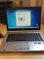 2.5Ghz core i5 second generation HP,4GB memory,250hdd,good batte
