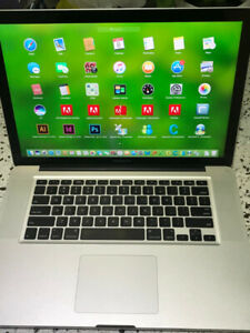 Macbook Pro 2010 15 i5 2.4GHZ 4GB 320GB Fully Loaded with Micros