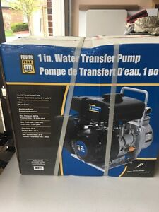 "1"" water transfer pump. Brand new"