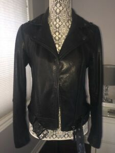 Mackage Florica Leather Jacket