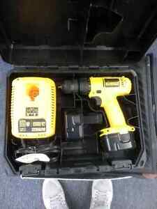 12V Dewalt Drill with Charger