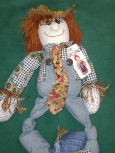 Vintage surplus scarecrow rare doll