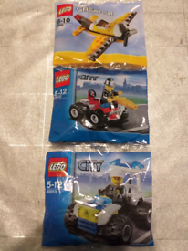 Lego polybags/mini builds new