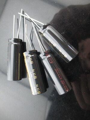 4 Japan Panasonic Fm 2200uf 25v 2200mfd Impedance Electrolytic Capacitors