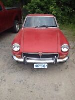 1974 MGB GT for sale.