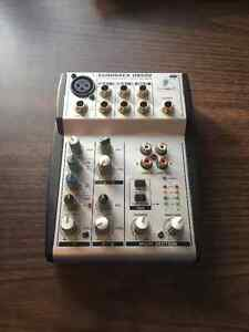 Behringer Eurorack UB502 5-Channel Compact Mixer Prince George British Columbia image 1