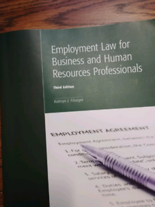 Employment Law for Buisness and Human Resources Professional
