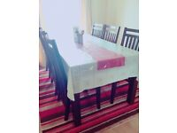 Lovely Dining table set URGENT SALE(due to moving country)