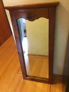 Beautiful mirror- solid wood frame Downtown-West End Greater Vancouver Area image 1