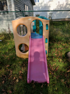 Climber and Slide Play Structure Great Shape !