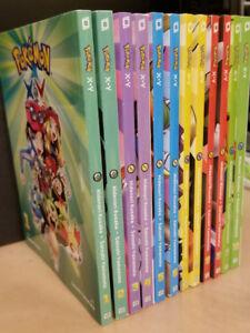 12-Volume Pokemon XY Manga book set X&Y for anime game fans