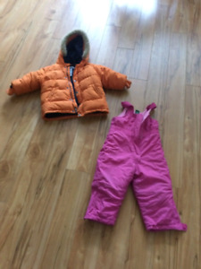 3T Winter jackets, snowpant&boots
