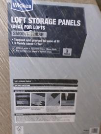 Wickes loft boards - 3 packs of 3 (9 boards)