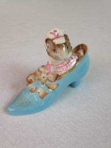 """Beswick Figurine """"The Old Woman who lived in a Shoe"""""""