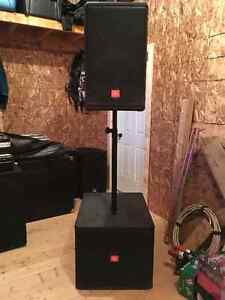 Mobile Sound and Light Disco System