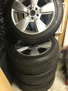 BMW 18' Rims w/tires