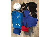 Full snowboarding clothing setup
