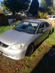 2005 Honda Civic 190k