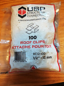 Roof Clips 1/2""