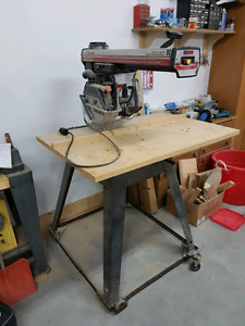 "Radial Arm Saw  -Craftsman 10"" Heavy Duty"