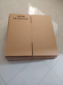 17 Strong Double Wall Square Cardboard Boxes House Removal Moving Pack