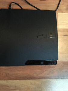Playstation 3 avec plusieurs jeux