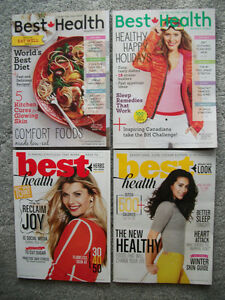 BEST HEALTH MAGAZINES  --  10 ISSUES
