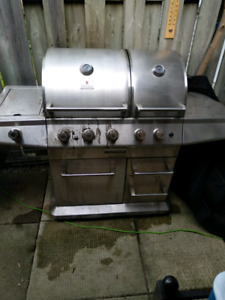 Double Sided Propane BBQ