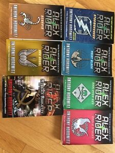 Alex Rider Collection   Seven Books   Excellent Condition