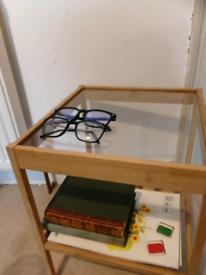 Wooden IKEA Bedside table