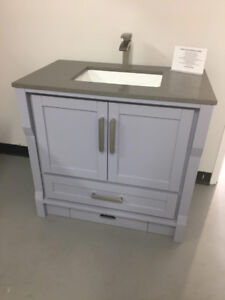 """ 40% OFF""on selected Model Bathroom Vanities(offer ends Oct 21)"