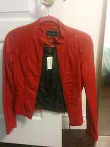Brand new Le Chateau Motorcycle Jacket XXS Cambridge Kitchener Area image 2