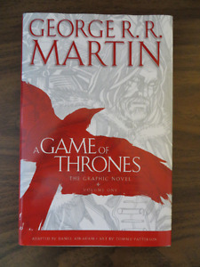 GAME OF THRONES Hardcover Graphic Novel Vol 1
