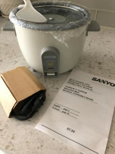 Sanyo Rice Cooker and Vegetable Steamer