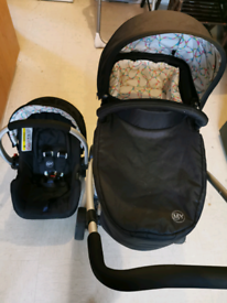 My child floe pram and car seat