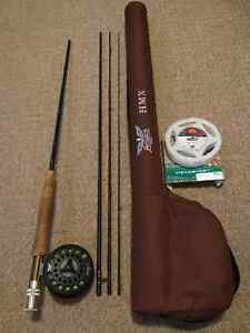 Fenwick HMX 9' 5wt Fly Rod/Reel and Travel Case