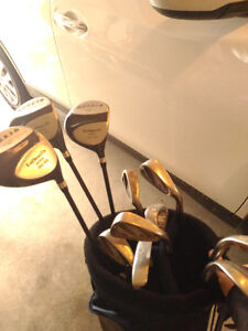 Two golf sets. $ 80 dollars each